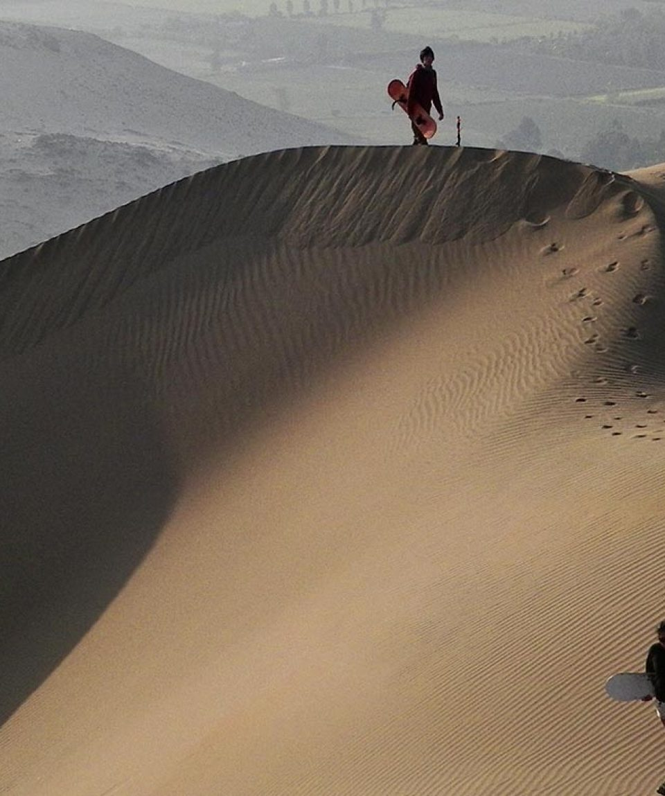 SANDSLEDDING-PERU
