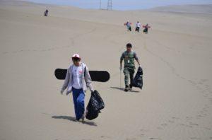 Desert Expeditions en el reto de la basura #Trashchallenge en lima y la conservación de desiertos (16)