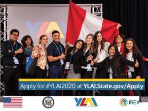 Ylai Alumni 2018 representando Perú en Washington y Detroit por Desert Expeditions