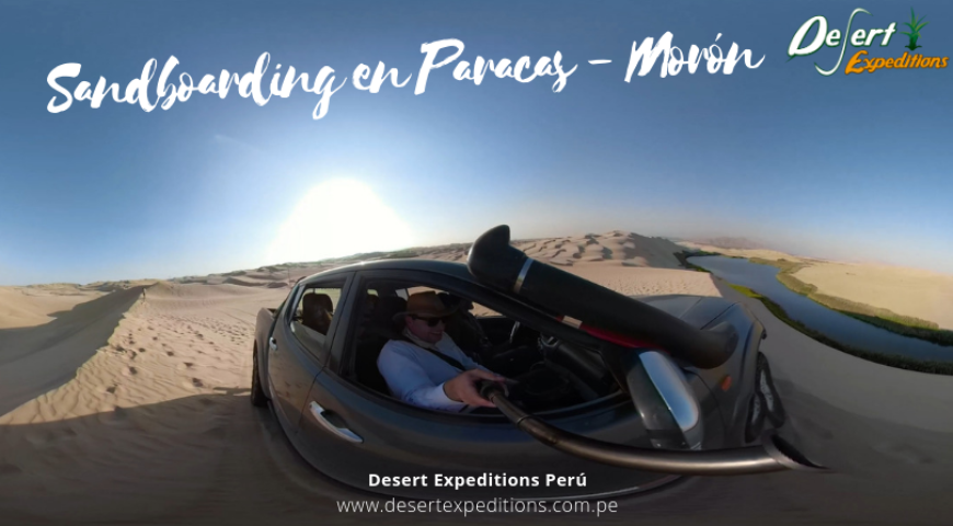 sandboarding en Paracas - Moron