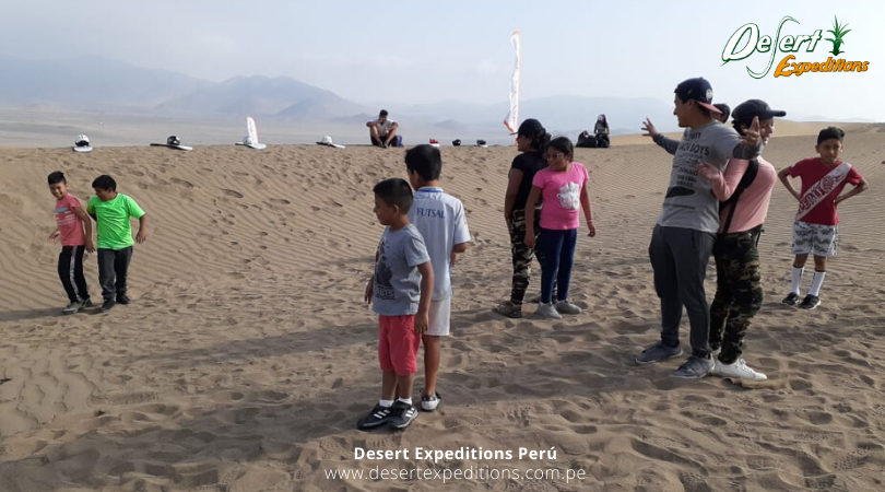 Escuela de Sandboarding por Desert Expeditions