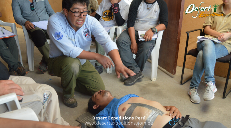 Curso de primeros auxilios en zona agreste by Desert Expeditions